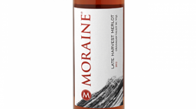 Moraine Estate Winery 2015 Late Harvest Merlot  Label