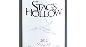 Stag's Hollow 2012 Viognier Label