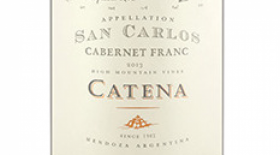 Catena Appellation San Carlos 2014 Cabernet Franc Label