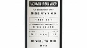 Vancouver Urban Winery 2012 Pinot Noir | Red Wine