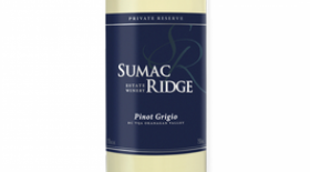 Sumac Ridge Estate Winery 2016 Pinot Gris (Grigio) | White Wine