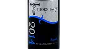 Thornhaven Estates Winery 2014 Syrah (Shiraz) Label
