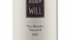 Andrew Will Two Blondes Vineyard 2007 Label