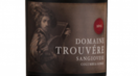Domaine Trouvere Sangiovese Label