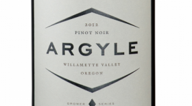 Argyle Winery 2012 Pinot Noir Label