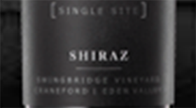 Single Site Swingbridge Vineyard Craneford Eden Valley Shiraz Label