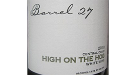 High on the Hog Label