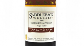 Saddleback Cellars 2007 Cabernet Sauvignon | Red Wine