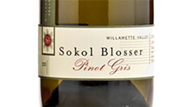 Willamette Valley Pinot Gris Label