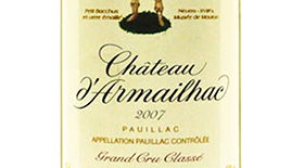 Chateau d'Armailhac Red Bordeaux Label