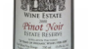 Hainle Vineyards Estate Winery 2008 Pinot Noir Reserve Label