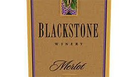 Blackstone Winery 2013 Merlot Label