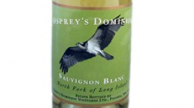 Osprey's Dominion 2013 Sauvignon Blanc Label