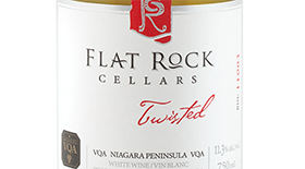 Flat Rock Cellars Twisted 2011 Label