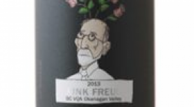 Therapy Vineyards 2017 Pink Freud Label
