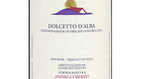 Andrea Oberto 2011 Dolcetto D'Alba | Red Wine