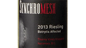 Botrytis Affected Riesling Label
