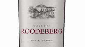 KWV 2016 Roodeberg Red Blend Label