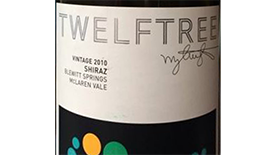 Twelftree Single Vineyard Label