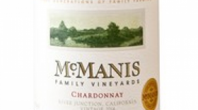 McManis Family Vineyards 2016 Chardonnay Label