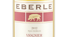 Eberle Winery 2012 Viognier Label