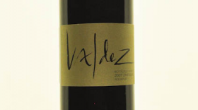 Botticelli Vineyard Rockpile 2009 Label