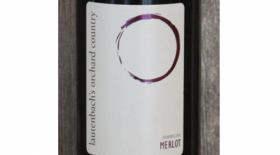 Lautenbach's Orchard Country Merlot Label