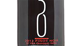 50th Parallel Estate 2012 Pinot Noir Label