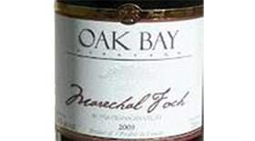 Oak Bay Marechal Foch Label