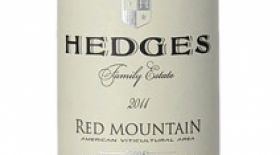 Hedges Family Estate Red Mountain 2011 Label