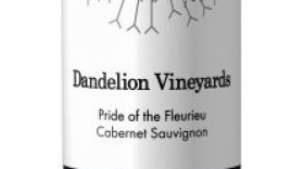 Dandelion Vineyards Pride of the Fleurieu 2013 Cabernet Sauvignon Label