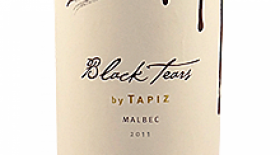 Tapiz 2011 Black Tears Label