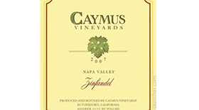 Caymus Vineyards 2007 Zinfandel | Red Wine