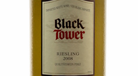 Black Tower 2008 Riesling Label