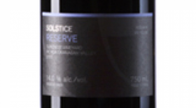 Arrowleaf Cellars 2015 Solstice Reserve Label