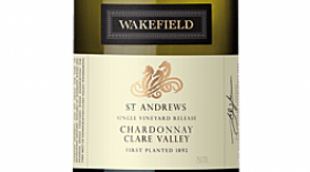 Wakefield 2016 St Andrews Chardonnay Label