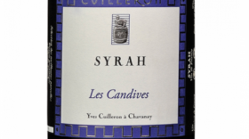 Yves Cuilleron Les Candives 2016 Syrah Label