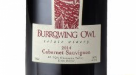Burrowing Owl Estate Winery 2014 Cabernet Sauvignon Label