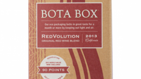 Bota Box RedVolution Label
