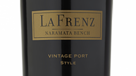 La Frenz 2017 Vintage Port Style Label