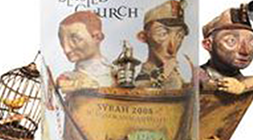 Blasted Church Vineyards 2008 Syrah (Shiraz) Label