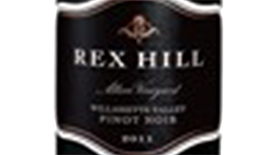 REX HILL Alloro Vineyard Pinot Noir Label