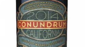 Conundrum 2014 California Red Wine Blend Label