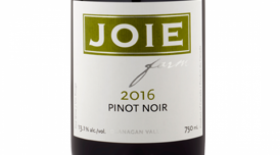 JoieFarm 2016 Pinot Noir | Red Wine