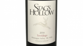 Stag's Hollow 2016 Teroldego Label