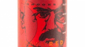 Brooks Runaway Red 2010 Pinot Noir Label