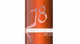 Summerland Estate Winery and B&B 2017 78 Rose Label