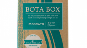 Bota Box Moscato Label