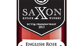 Saxon Estate Winery 2013 Léon Millot blend Label