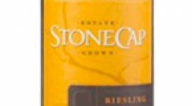 Stonecap 2013 Riesling Label